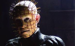 Doug Bradley, interprète de Pinhead, en 1987, dans Hellraiser.