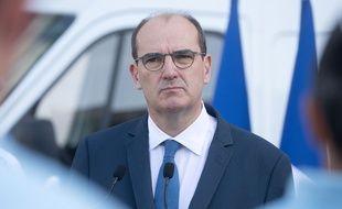 Le Premier ministre Jean Castex à Dijon le 10 juillet 2020