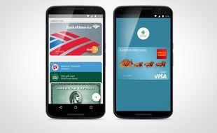 Le système de paiement mobile Android Pay a été lancé aux Etats-Unis le 10 septembre 2015.
