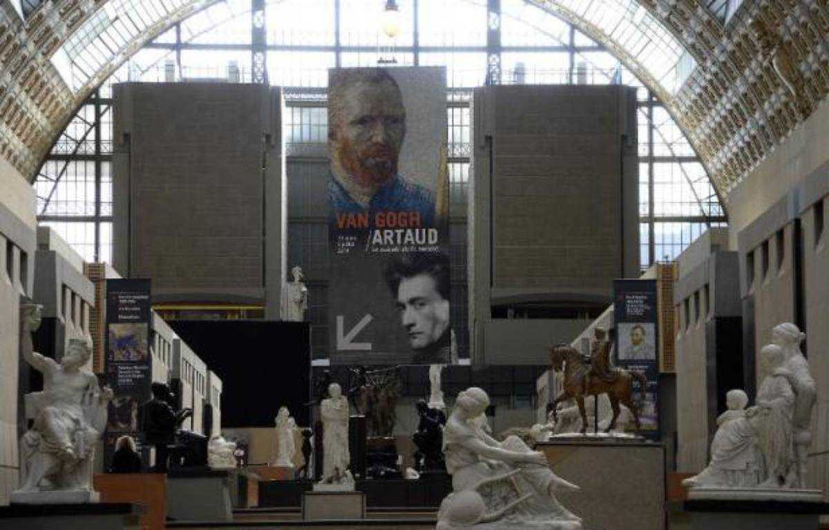 Exposition Van Gogh au musée d'Orsay le 10 mars 2014 – Bertrand Guay AFP