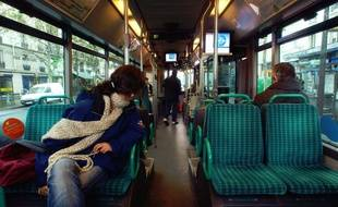 Illustration d'un bus en Ile-de-France