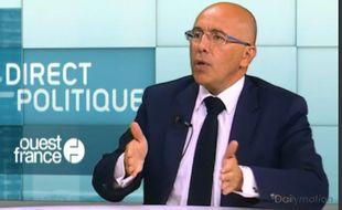 Eric Ciotti, député Les Républicain le 23 juin 2015