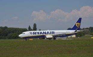 Un avion de la compagnie Ryanair le 5 juillet 2018 en République tchèque.