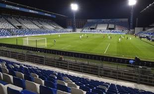 Un match de Serie A dans le stade de Sassuolo