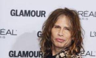 Steven Tyler, du groupe Aerosmith, à New York, le 9 novembre 2009.