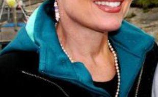 Sarah Palin, gouverneur de l'Alaska, 44 ans.