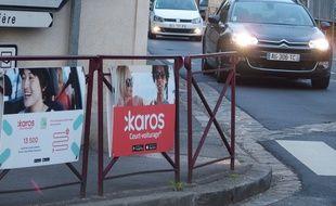 Les Molières, le 23 mai 2017. Karos, une application qui développe un système de co-voiturage, est mis à l'honneur dans la commune essonnienne.