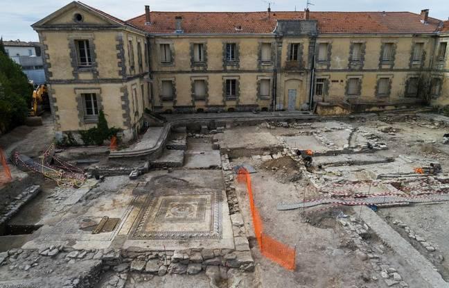 Le site de l'ancienne gendarmerie, qui va accueillir un internat et une cantine.