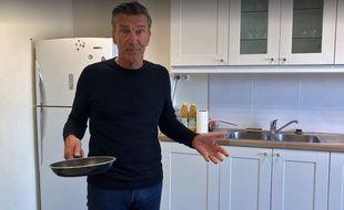 La vidéo de Bruno Ficheux, maire (DVD) d'Estaires, pour trouver un boucher.