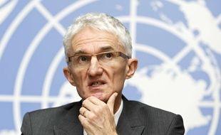 Le secrétaire général adjoint des Nations unies aux Affaires humanitaires, Mark Lowcock.