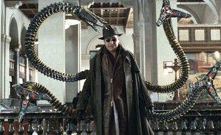 Alfred Molina dans le rôle du Docteur Octopus dans la franchise « Spider-Man».