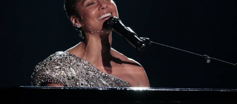 La chanteuse Alicia Keys