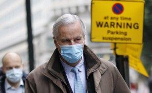 Michel Barnier, négociateur européen du Brexit, le 4 décembre 2020 à Londres.