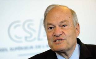 Michel Boyon, président du Conseil Supérieur de l'Audiovisuel, le 11 mai 2011 à Paris