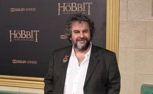 Le réalisateur de la franchise Seigneur des Anneaux et Le Hobbit, à la première  d'un de ses films, en 2014.