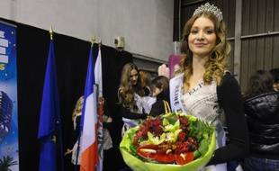 Amélie, la reine du carnaval de Nice.