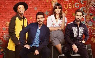 Soprano, Patrick Fiori, Jenifer et Kendji Girac sont les coachs de la saison 7 de The Voice Kids.