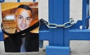 Photo de Wissam El-Yamni déposée devant le tribunal de Clermont-Ferrand, le 1er janvier 2013