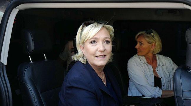 Marine Le Pen, photographiée le 18 juin 2017 lors du second tour des élections législatives. – Michel Spingler/AP/SIPA