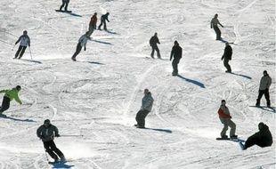 Skieurs à la station des Angles, dans les Pyrénées-Orientales (archives).