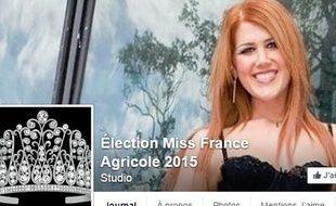 Miss France agricole, concours lancé sur Facebook en décembre 2014.