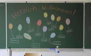 Alsace: Des parents d'élèves mène l'opération «Adopte un prof d'allemand» pour les classes bilingues  en manque d'enseignants (Archives)