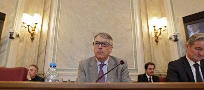 Jean-René Lecerf, au sein de l'hémicycle de l'hôtel du département du Nord, en 2015.