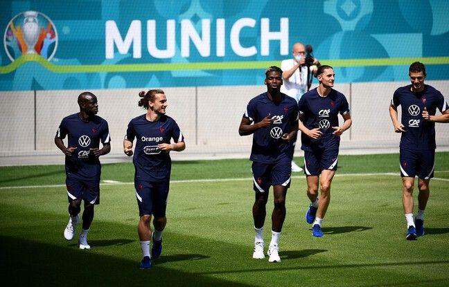 Cinq des titulaires face à l'Allemagne ont pris part à un décrassage très léger mercredi.