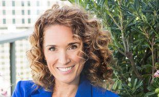 La journaliste Marie-Sophie Lacarrau.