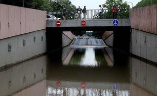 En deux semaines, avec les orages, la ville de Reims a été inondée trois fois.