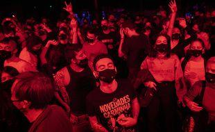 La ville de Barcelone a déjà organisé un concert test.