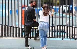 Ben Affleck et Jennifer Garner, à Los Angeles, le 1er mai 2021.