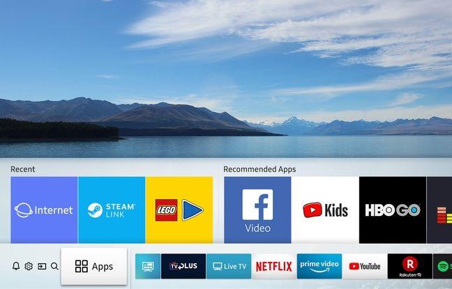 Les Smart TV offrent un accès à de nombreux services, applications et chaînes en Replay.