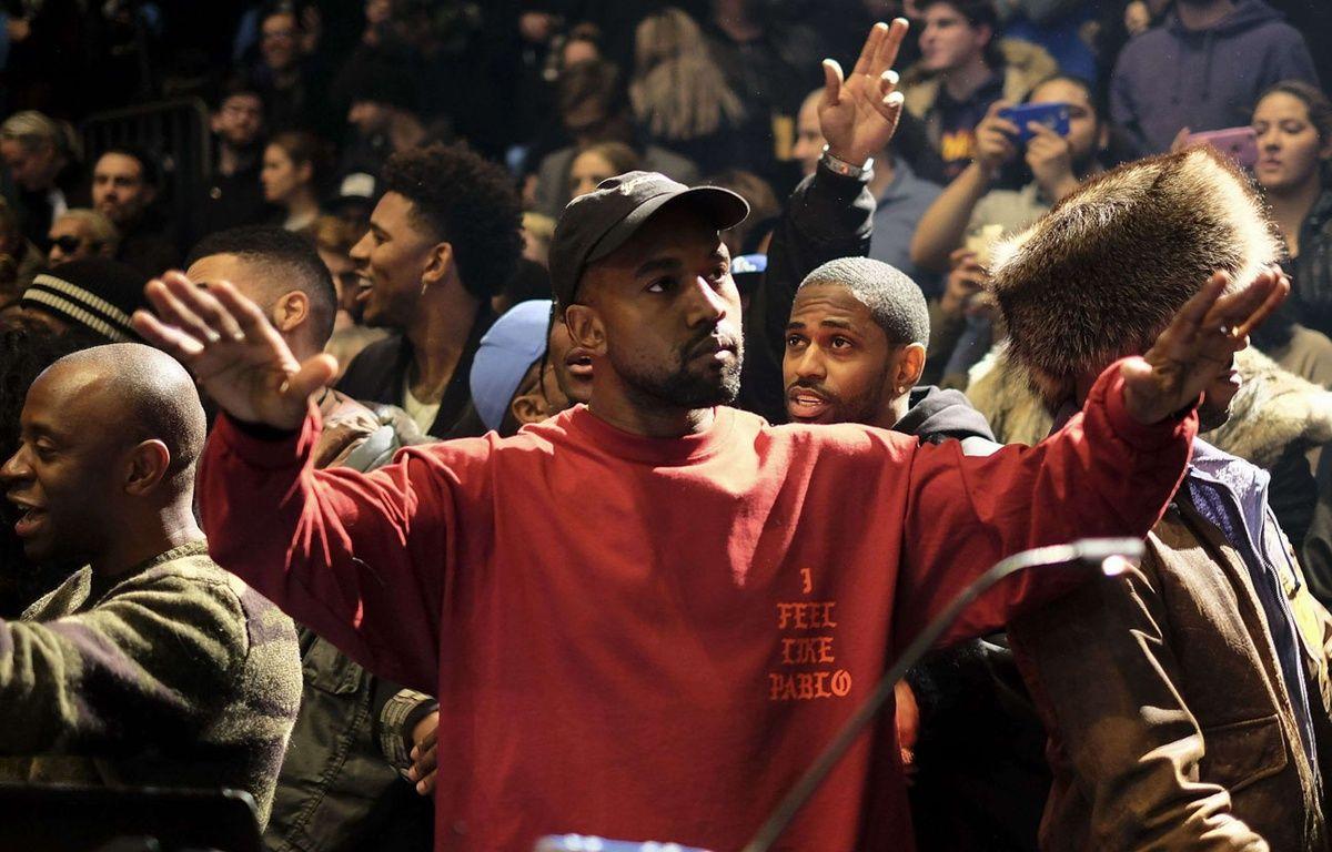 Kanye West lors de l'ouverture de la Fashion Week à New York le 11 février 2016 –  BFA/Shutterstock/SIPA