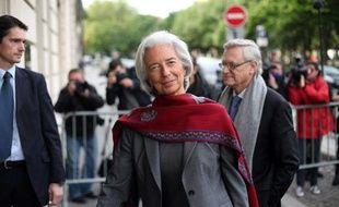Christine Lagarde à Paris le 24 mai 2013.
