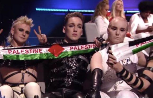 Eurovision 2019: Le groupe islandais brandit des banderoles en soutien à la Palestine