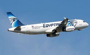 Un avion A320-200 de la compagnie EgyptAir.