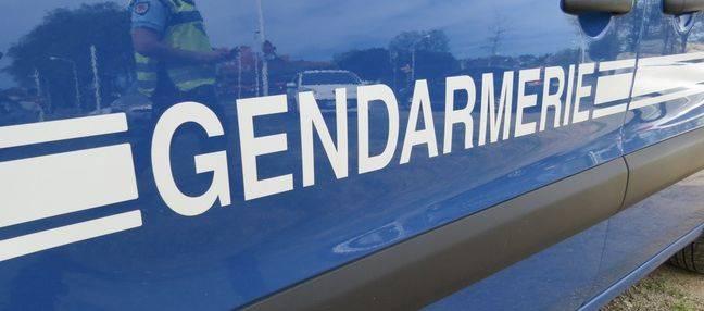 Un véhicule de la gendarmerie de la Haute-Garonne.