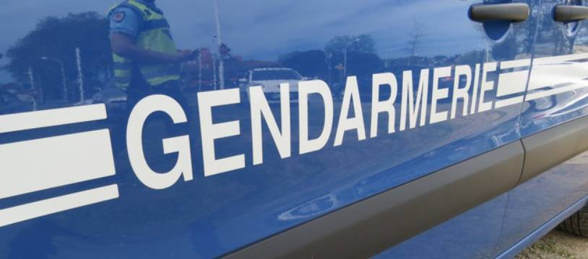 Un véhicule de la gendarmerie (illustration).