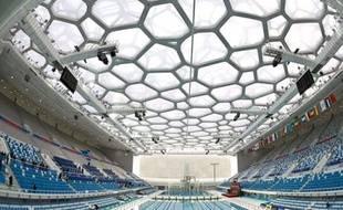 C'est au sein de ce bâtiment résolument moderne que se dérouleront les épreuves de natation, de plongeon, de natation synchronisée et de water-polo.