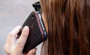 L'adolescente n'aurait pas supporté qu'on lui confisque son smartphone (Illustration).