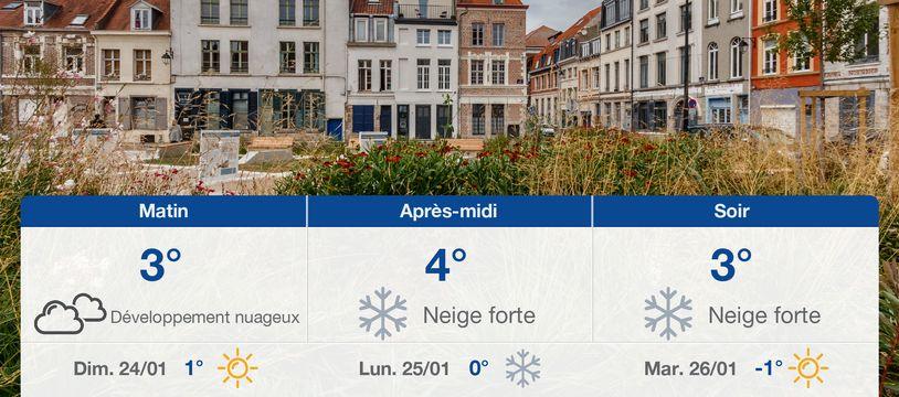 Météo Lille: Prévisions du samedi 23 janvier 2021