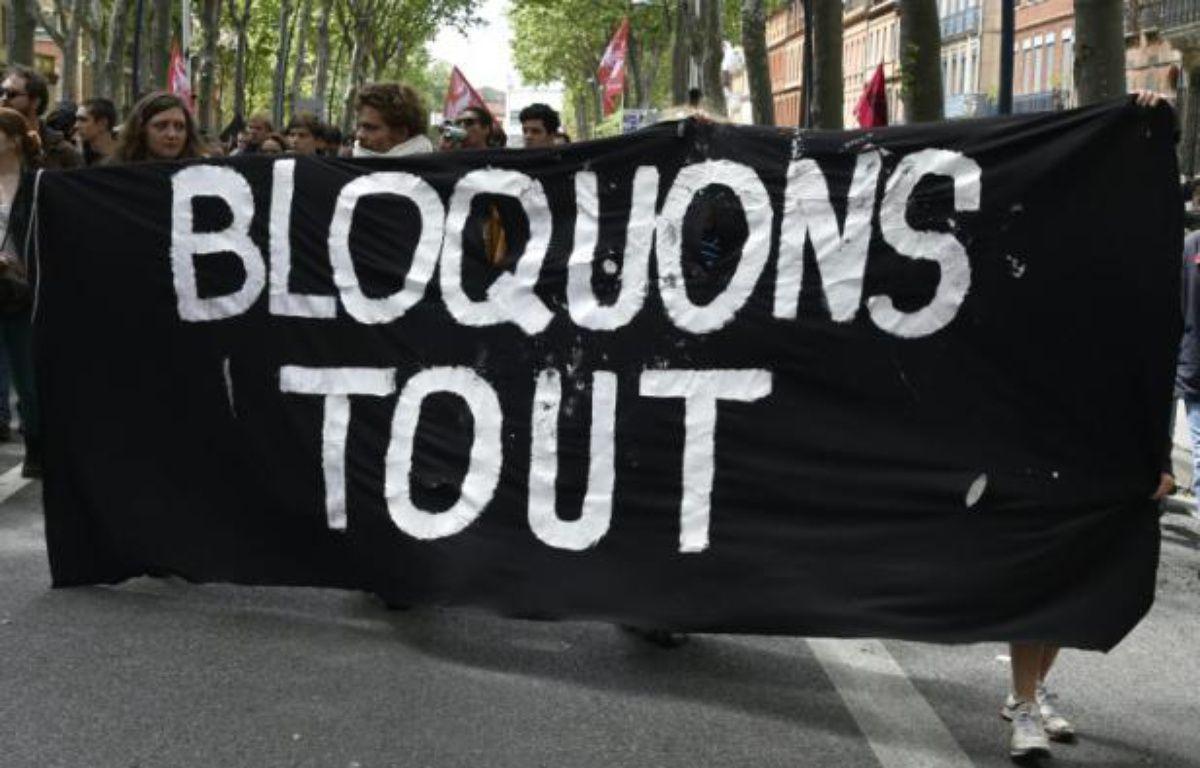 """L'opération """"Bloquons tout"""" a démarré aux aurores. Archives. – PASCAL PAVANI AFP"""