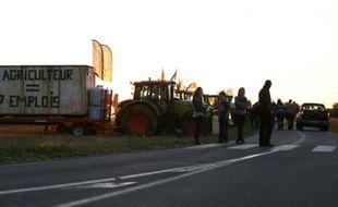 Camions et tracteurs le 2 septembre 2015 à Saint-Manvieu-Norrey près de Caen