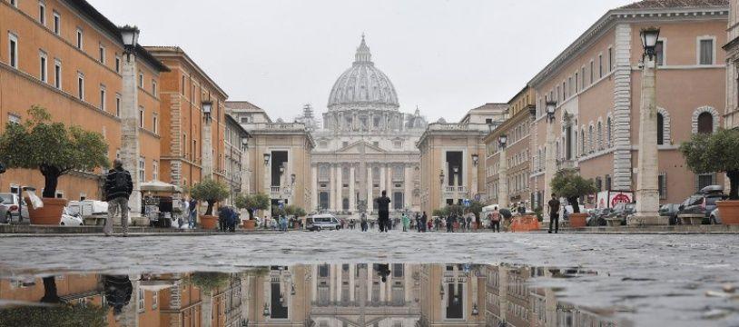 Rome sous la pluie, le 9 mai 2018.