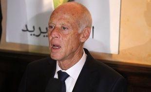 Kais Saied, nouveau président de la Tunisie