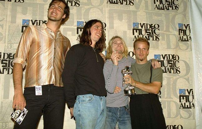 Le groupe Nirvana en 1993.