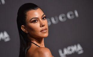 La star de la téléréalité Kourtney Kardashian.