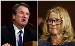Le juge Brett Kavanaugh, candidat à la Cour suprême, et Christine Blasey Ford, qui l'accuse d'abus sexuels, ont été auditionnés le 27 septembre 2018 par la commission judiciaire du Sénat aux Etats-Unis.