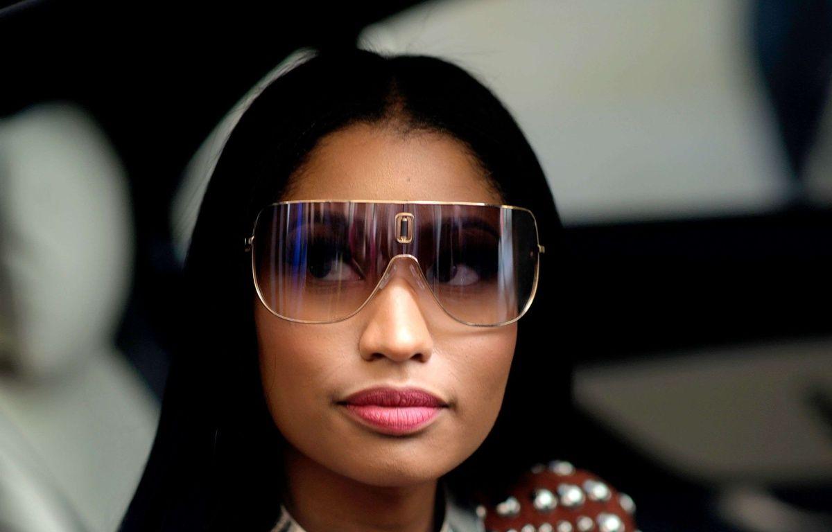 Nicki Minaj garde les scènes filmées sur le pont de Westminster dans son clip – Wayne Tippetts/Shutters/SIPA